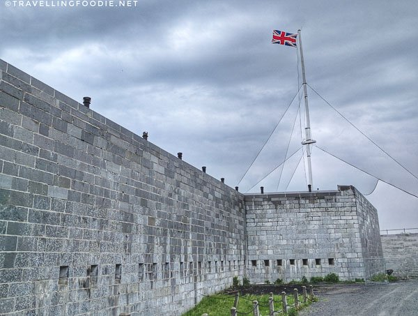 Fortifications at Fort Henry in Kingston, Ontario
