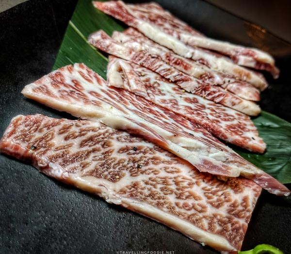 Kobe Style Kalbi Short Rib at Gyu-Kaku Japanese BBQ in Torrance, California