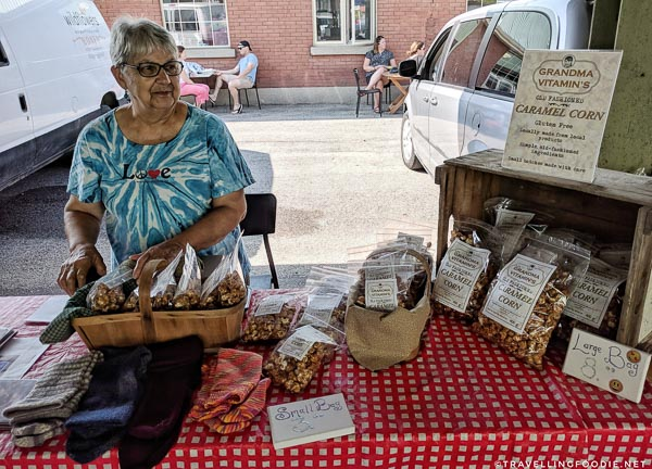 Grandma Vitamin's at Hortons Farmers Market in St. Thomas, Elgin County, Ontario