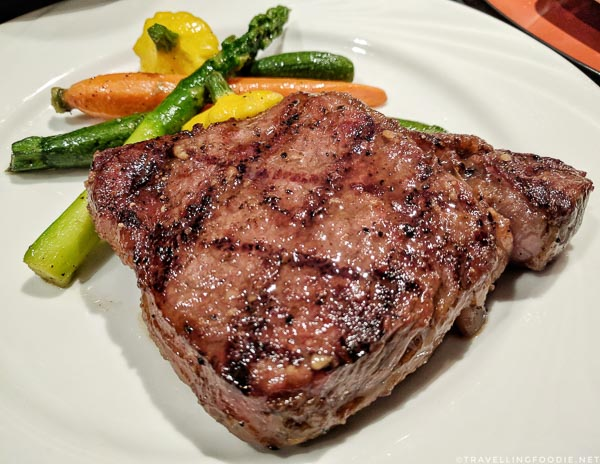 Wagyu Ribeye Steak at Ise-Shima Restaurant in Miyako Hybrid Hotel in Torrance, California