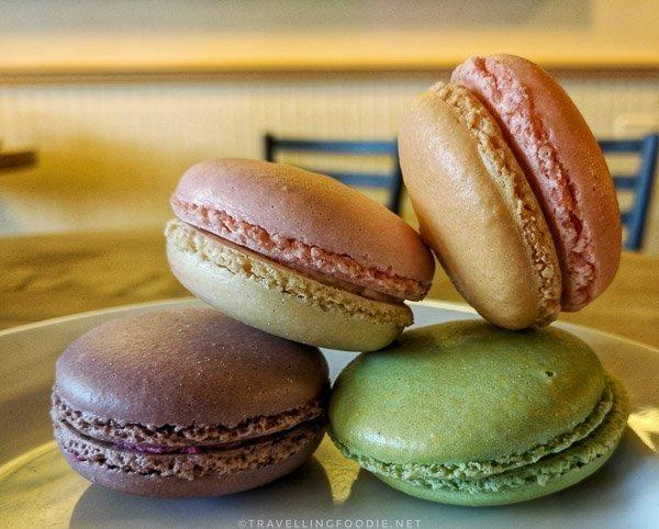 Macarons at Le Panier Bakery in Seattle, Washington