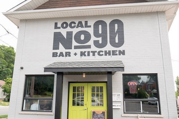 Local No. 90 Bar and Kitchen in Port Hope, Ontario