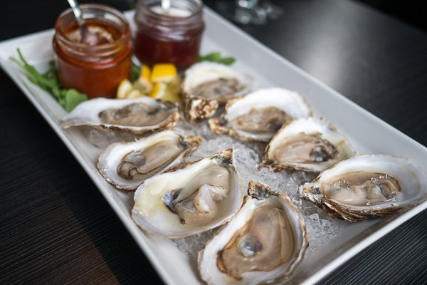 P.E.I. Oysters at Local No. 90 in Port Hope, Ontario