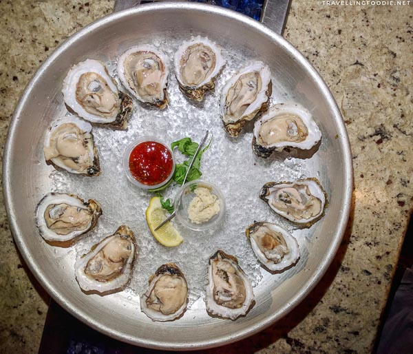 Local Oysters at Johnny's Famous Oyster Bar at Meehan's in St. Augustine, Florida