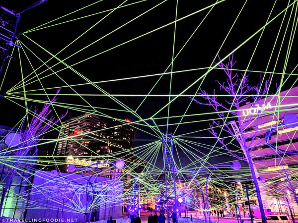Illuminart: Apparatus Florius by Tom Dekyvere at Montreal en Lumiere 2018
