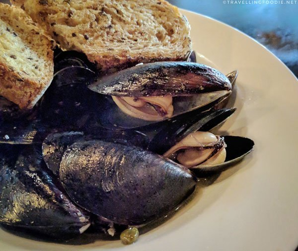 Mussels A'la Mariniere at Orfeo in Seattle, Washington