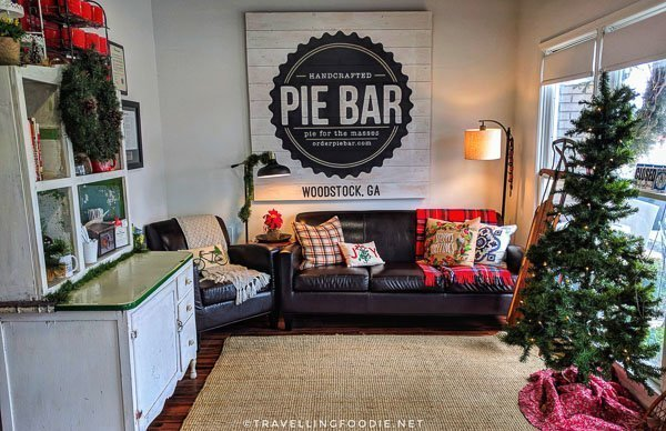 Pie Bar in Downtown Woodstock, Georgia