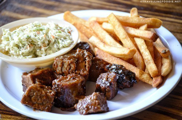Burnt Ends at Pitmasters BBQ in DeLand, West Volusia, Florida