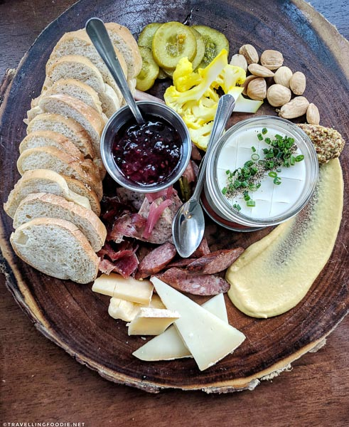 Charcuterie at Preserved in Lincolnville in St. Augustine, Florida