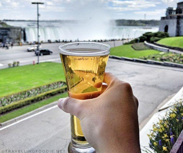 Oast Barnraiser Country Ale at Queen Victoria Place Restaurant in Niagara Falls, Ontario