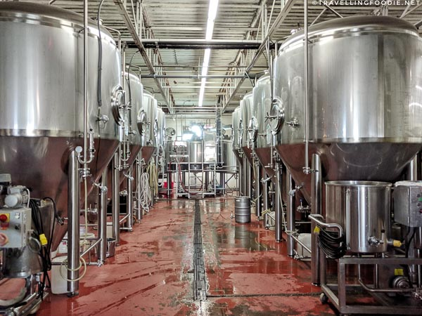 Brewery Tour at Railway City Brewing in St. Thomas, Elgin County, Ontario