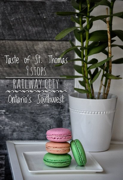 St. Thomas, Ontario: Taste of Railway City with these 9 stops including Snack Wacky Foods, Elgin Harvest, Railway City Brewing, Las Chicas del Cafe, Le Cafe Siam, Seed Conections, Horton Farmers Market, Rail City Bistro and Streamliners Espresso Bar.