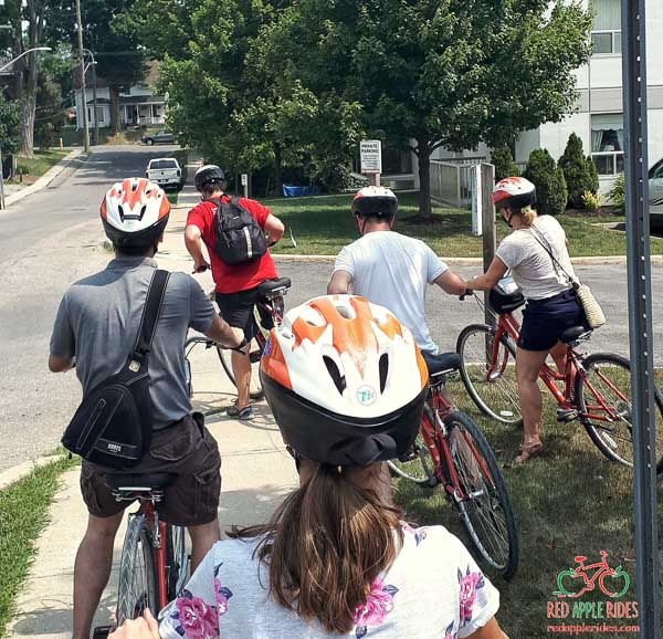 Lunch and Leisure Ride with Red Apple Rides in Port Dover, Norfolk County, Ontario