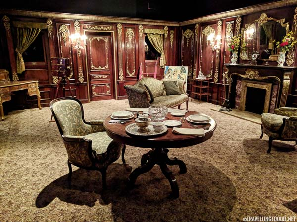 Titanic Suite replica at Ronald Reagan Presidential Library in Simi Valley, California