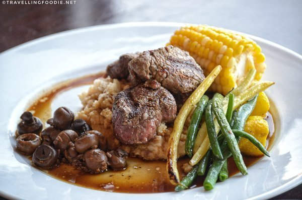 Beef Tenderloin at Schofields Bistro in Port Dover, Norfolk County, Ontario