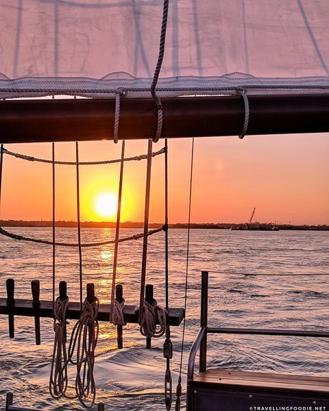 Sunset Views aboard Schooner Freedom sail in St. Augustine, Florida