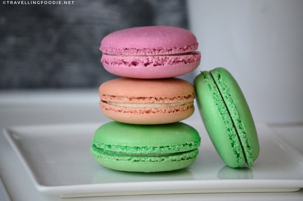 Macarons at Seed Confections in Railway City, Elgin County, Ontario