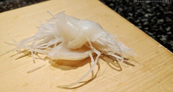 Geoduck Sushi at Shiro's Sushi in Seattle, Washington