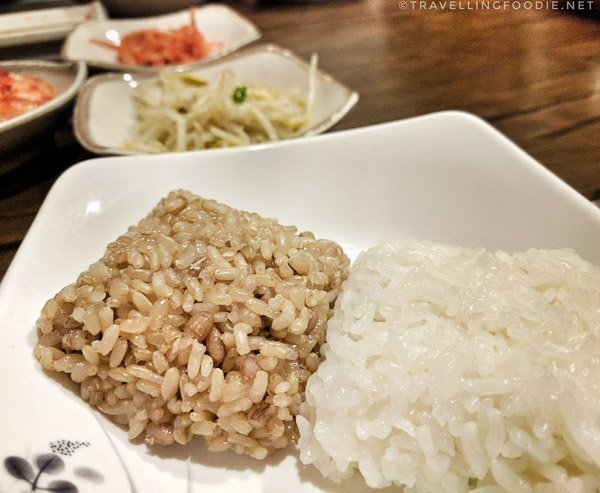 Bap (밥): Rice at Song Cook's in Toronto, Ontario