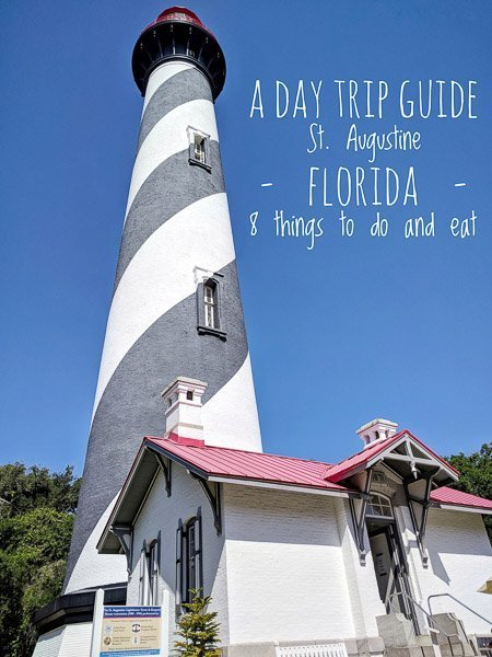 How to spend a day in St. Augustine, Florida including 8 Best Things To Do and Restaurants including St. Augustine Alligator Farm Zoological Park, Castillo de San Marcos, Preserved Restaurant, Lighthouse and Maritime Museum, Ghost Tours, Flagler Legacy Tour, Meehan's Irish Pub and St. Augustine Eco Tour.