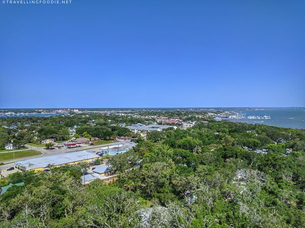 Panoramic view from the St. Augustine Lighthouse