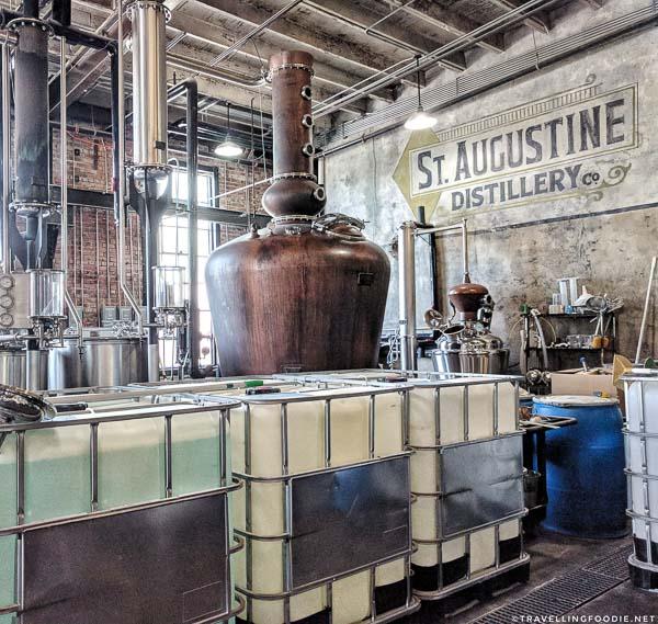 St. Augustine Distiller Tour
