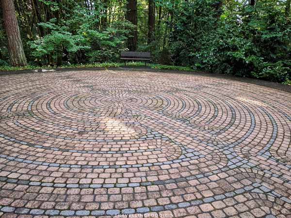 The Labyrinth at The Grotto in Portland, Oregon