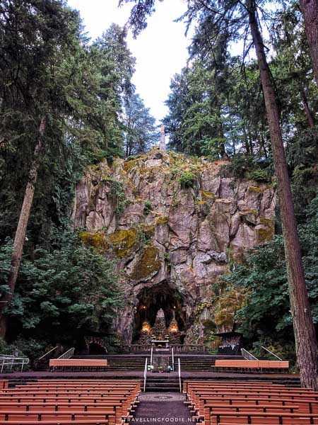 Our Lady's Grotto in Portland, Oregon