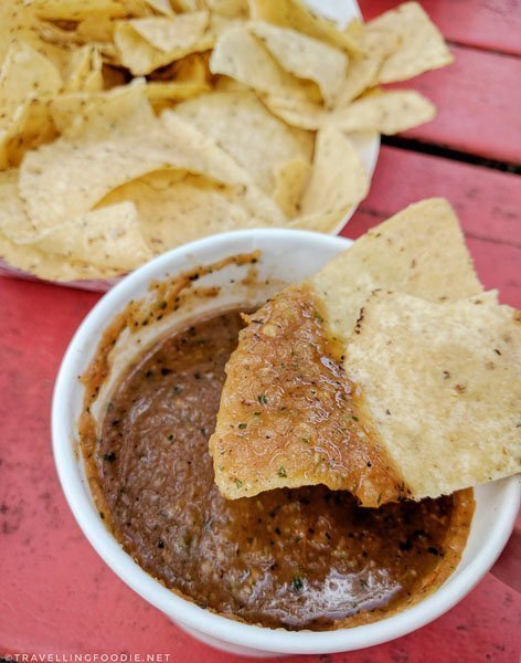 Chips & Salsa from Torchy's Tacos in Austin, Texas