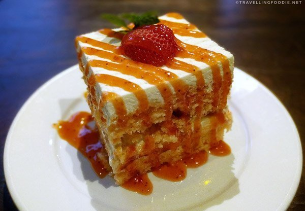 Tres Leches Cake at Twisted Oak Tavern in Agoura Hills, California