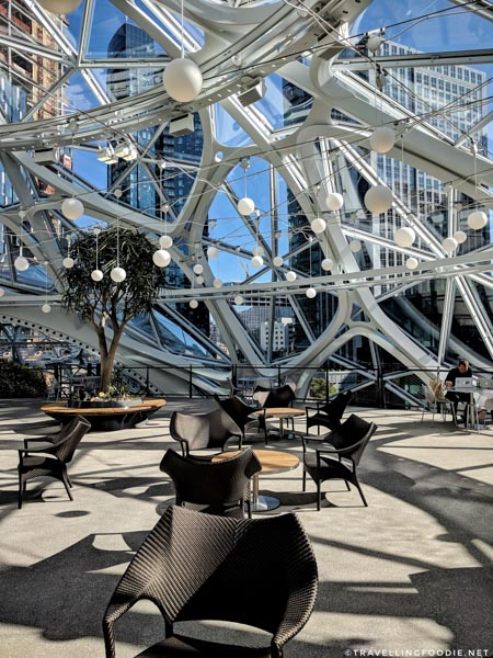 Workspaces at The Spheres in Seattle, Washington