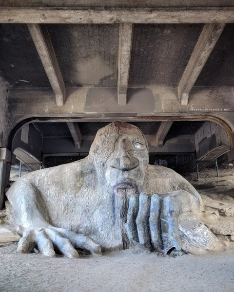 Fremont Troll in Seattle, Washington