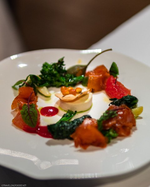 Smoked Trout at George Restaurant in Toronto, Ontario