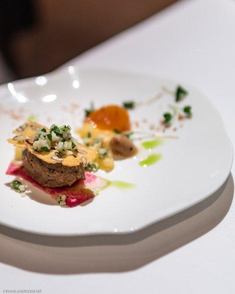 Pheasant Mousse at George Restaurant in Toronto, Ontario