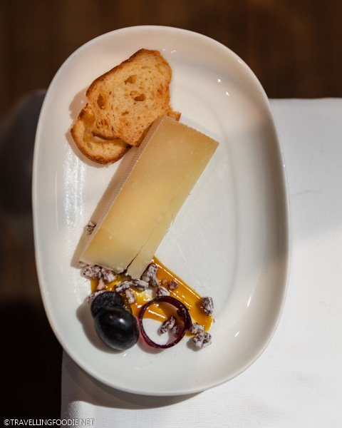 Allegretto Cheese at George Restaurant in Toronto, Ontario