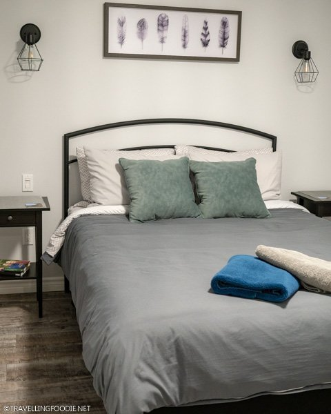 Unit 4 bedroom at My Lighthouse Cottages in Dunnville, Haldimand County, Ontario