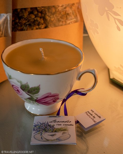 Travelling Foodie's candle and tea blends