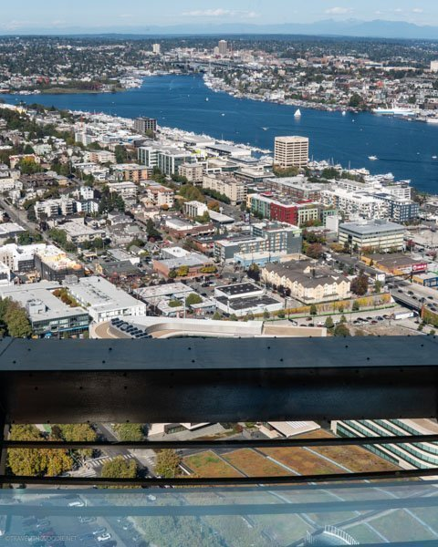 Skyrisers at Space Needle in Seattle, Washington