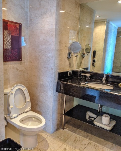Bathroom at Eastwood Richmonde Hotel in Quezon City, Manila, Philippines