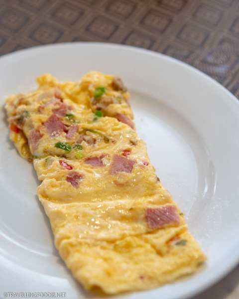 Omelette at Eastwood Cafe Bar Breakfast Buffet in Eastwood Richmonde Hotel, Manila, Philippines