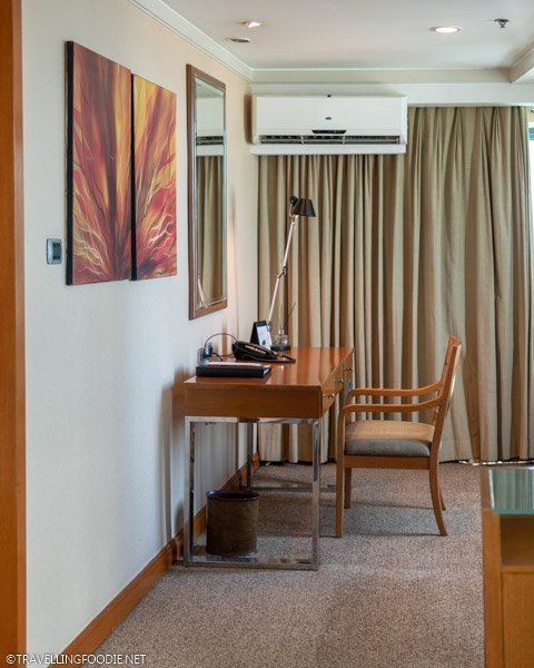 Writing Area of One Bedroom Suite Deluxe at Eastwood Richmonde Hotel in Quezon City, Manila, Philippines