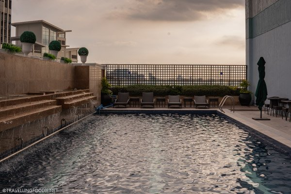 Swimming Pool at Eastwood Richmonde Hotel in Quezon City, Manila, Philippines
