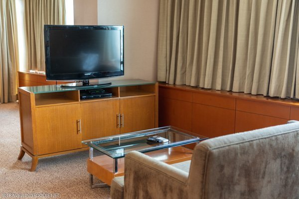 Living Room of One Bedroom Suite Deluxe at Eastwood Richmonde Hotel in Quezon City, Manila, Philippines