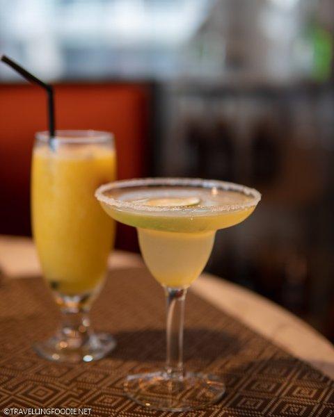 Margarita and Fresh Mango Shake at Eastwood Cafe Bar in Eastwood Richmonde Hotel, Manila, Philippines
