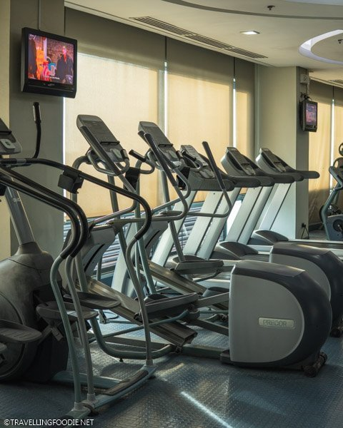 Fitness Center Gym at Eastwood Richmonde Hotel in Quezon City, Manila, Philippines