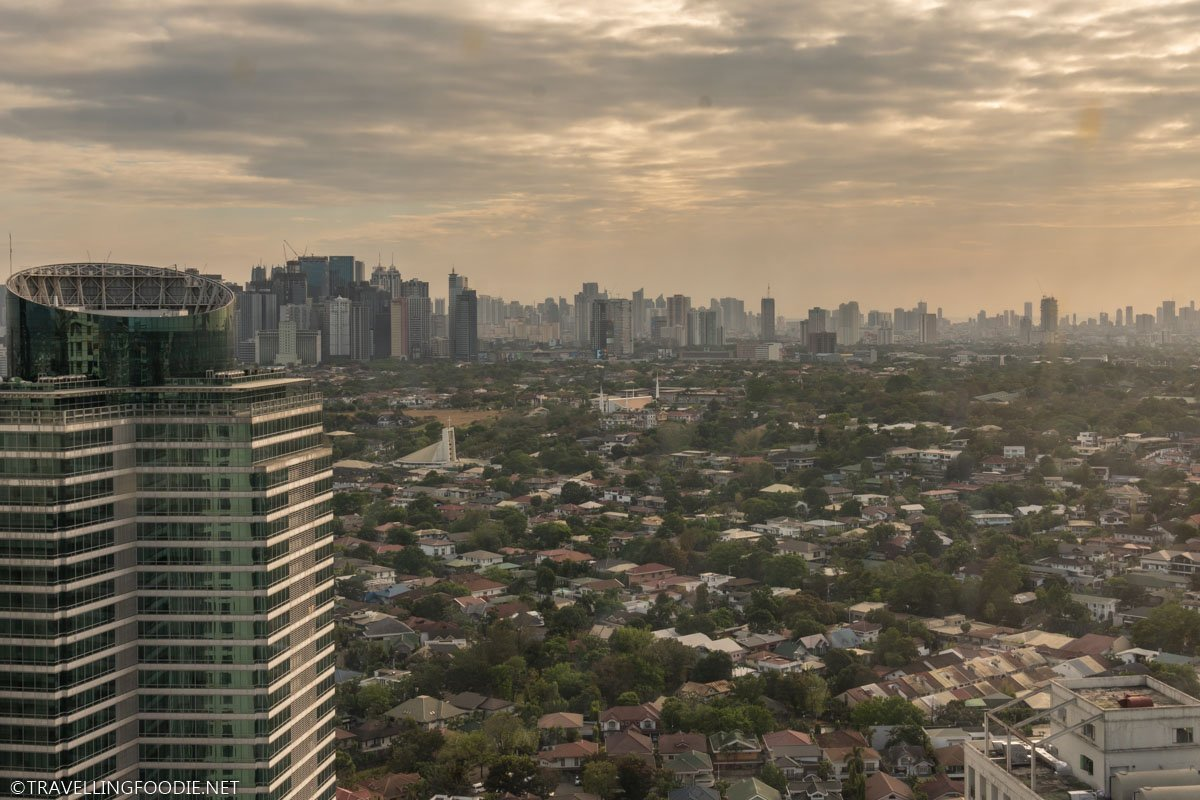 Sunset Views on Rooftop Pool in Eastwood Richmonde Hotel in Manila, Philippines