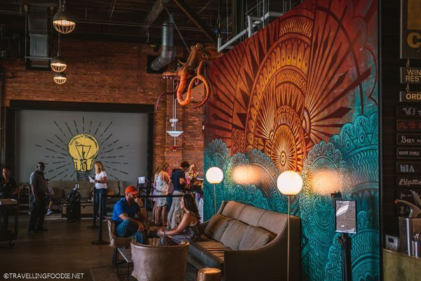 Cool artwork at Armature Works in Tampa Bay, Florida