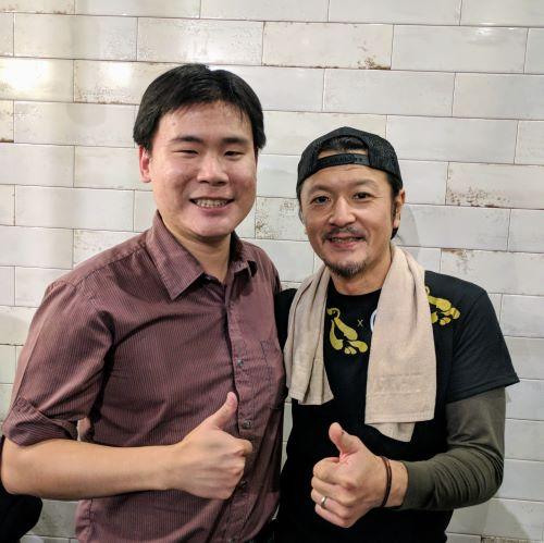 Chef Atsushi Yamamoto at Konjiki Ramen Toronto
