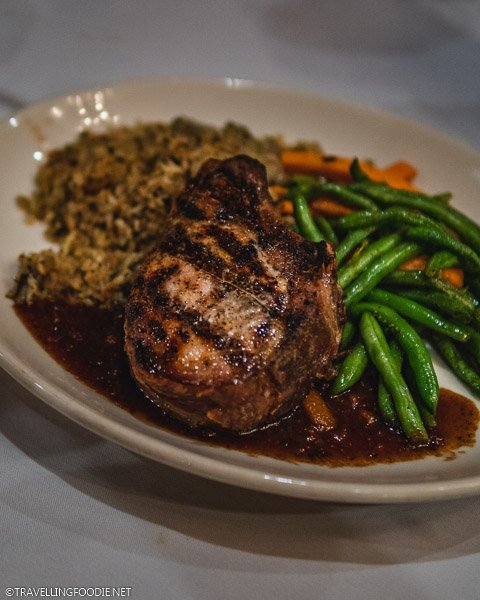 Pork Chop Avila at Columbia Restaurant in Ybor City, Tampa Bay, Florida