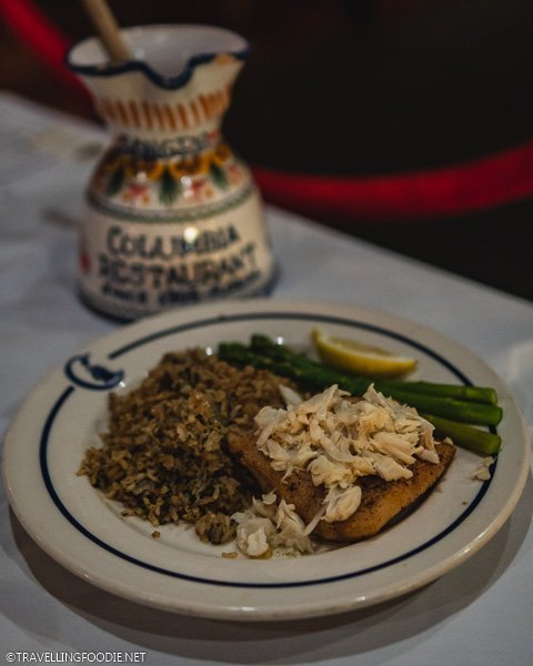 Grouper Jimmy at Columbia Restaurant in Ybor City, Tampa Bay, Florida